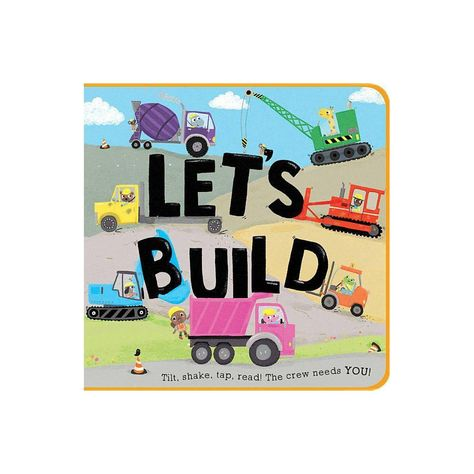 Let's Build by Houghton Mifflin Harcourt and Zoe Waring