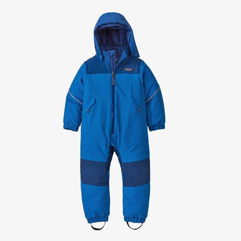 Baby Snow Pile One Piece - Bayou Blue