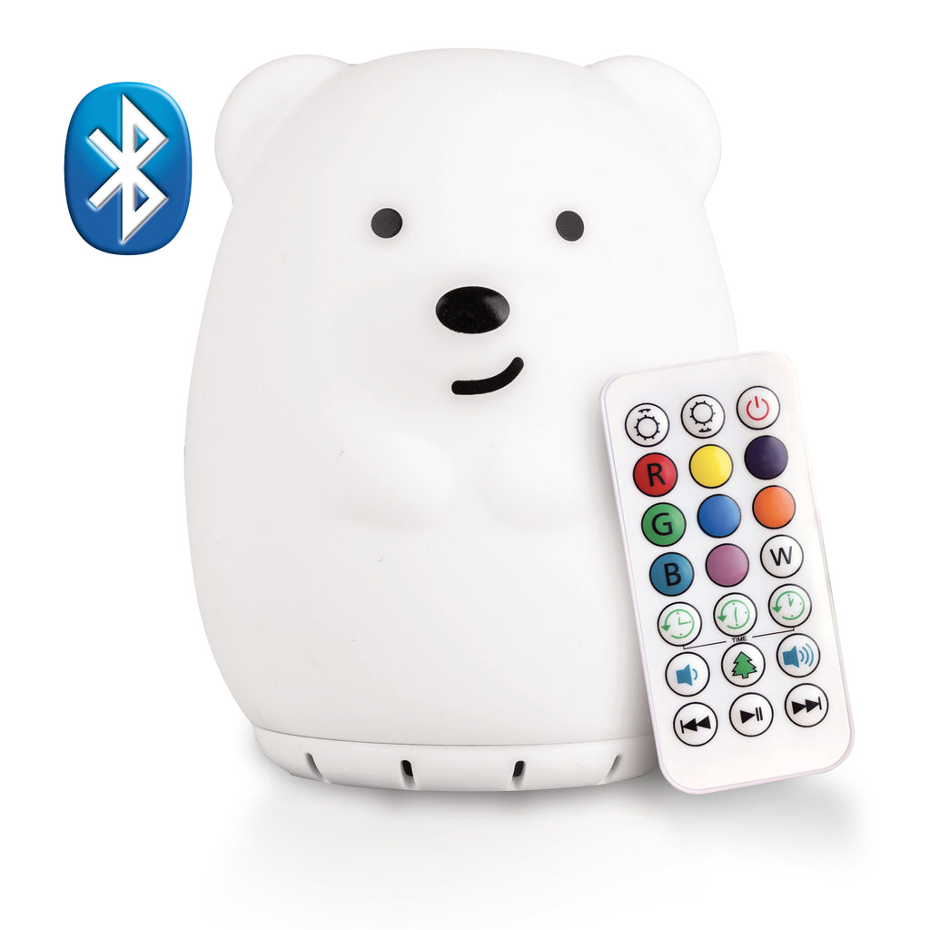 Lumi Pets Bear Bluetooth Color Changing Speaker