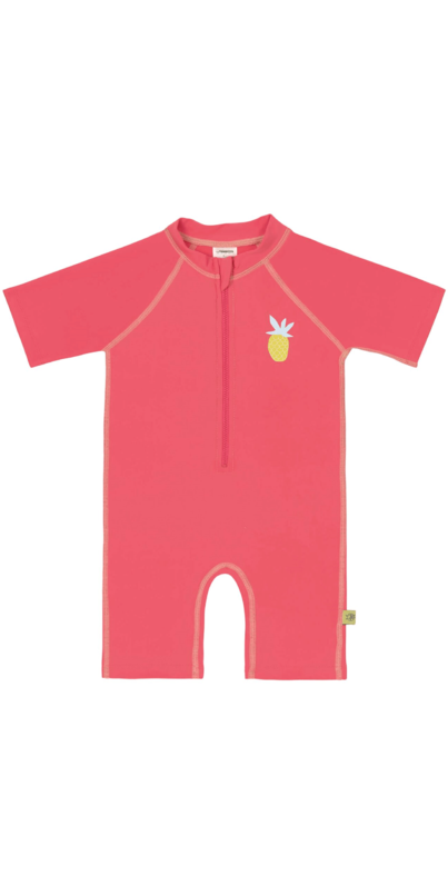 Lassig Short Sleeve Sunsuit - Pineapple