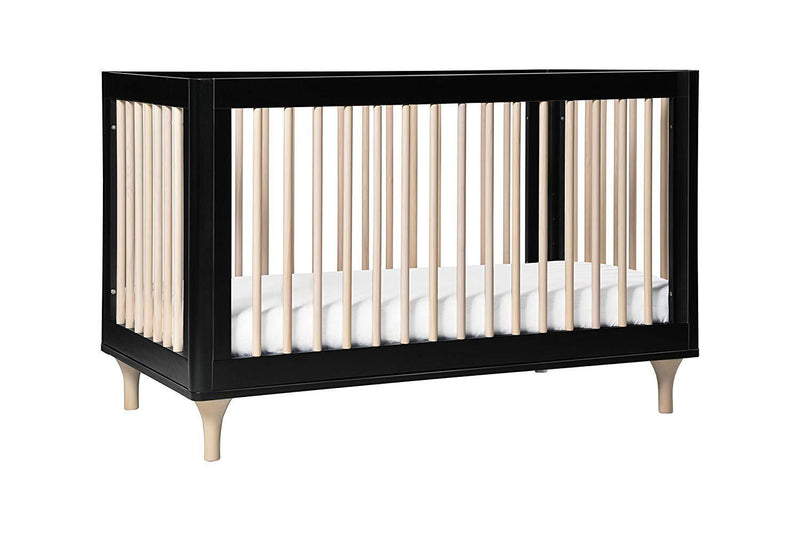 Dolce Babi Lucca Convertible Flat Top Crib in Weathered Brown