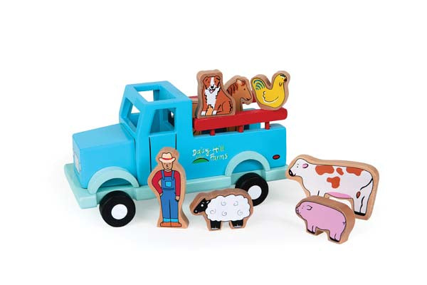 Jack Rabbit Creations Magnetic Farm Truck