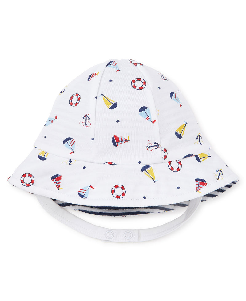 Kissy Kissy Summer Sail Reversible Sunhat
