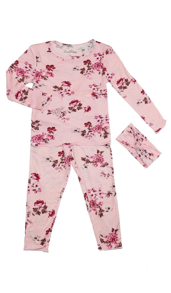 Everly Grey 2 pc toddler pajama