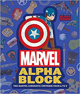 Marvel Alpha Blocks Book