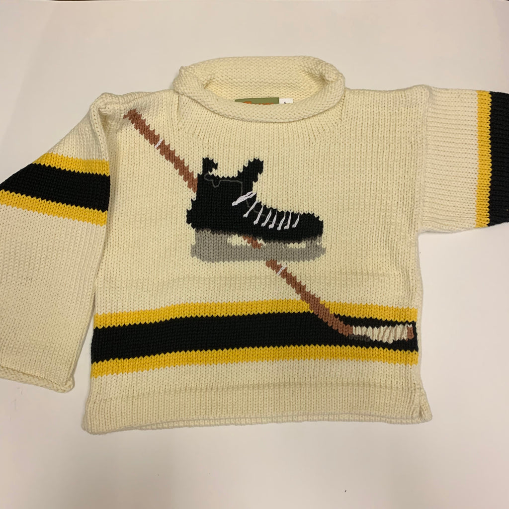 Claver Hockey Skate Sweater