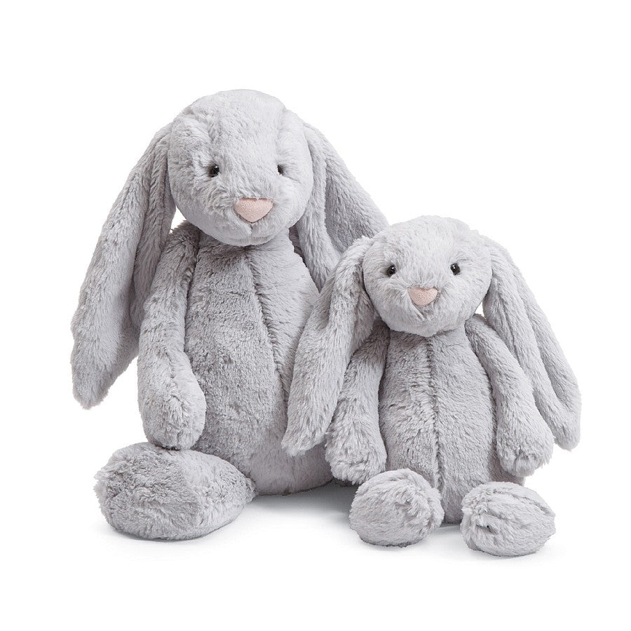 Jellycat Bashful Bunny Grey- Medium