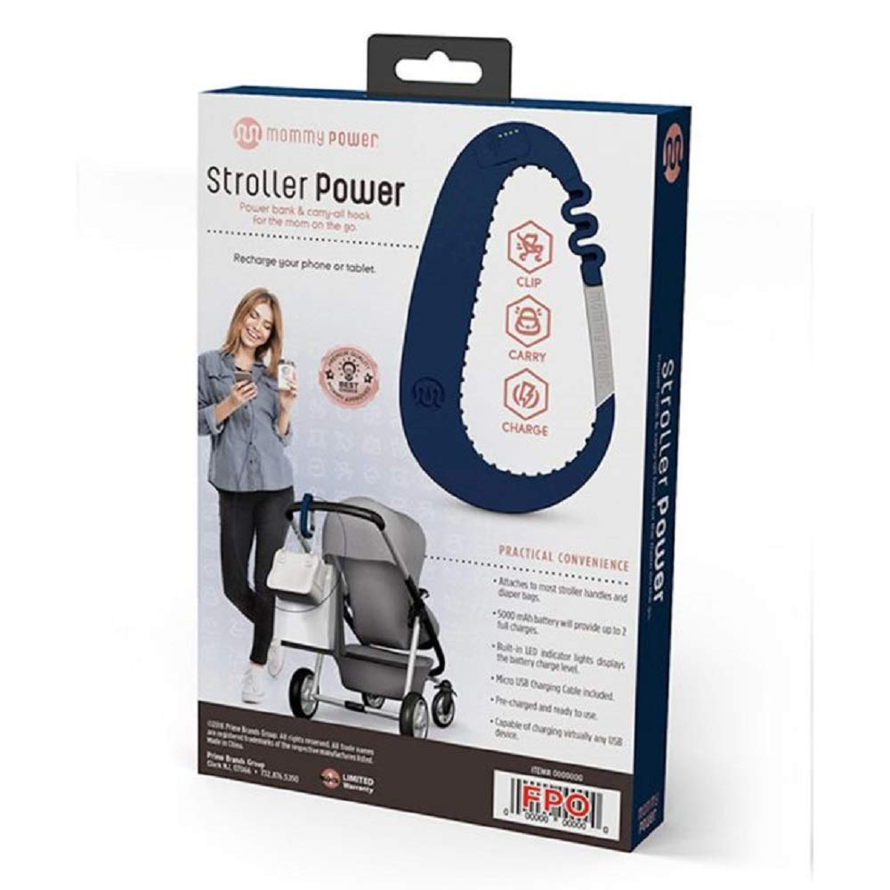 Mommy Power Stroller Power Clip