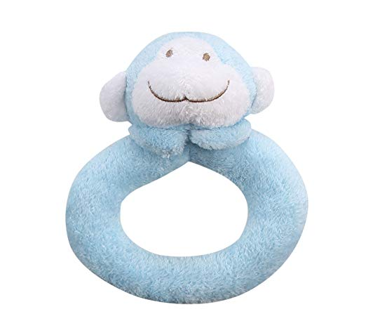 Angel Dear Bamboo Swaddle - Blue Cutey Whale