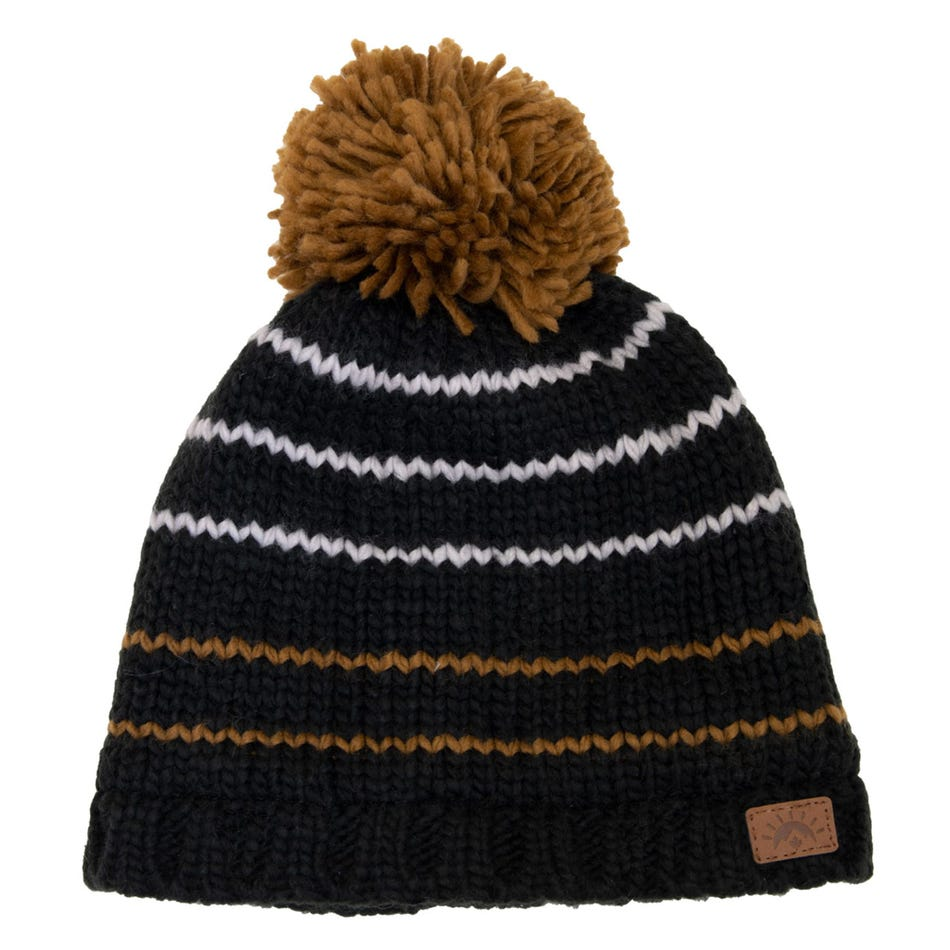Calikids Stripes Pom Pom Beanie