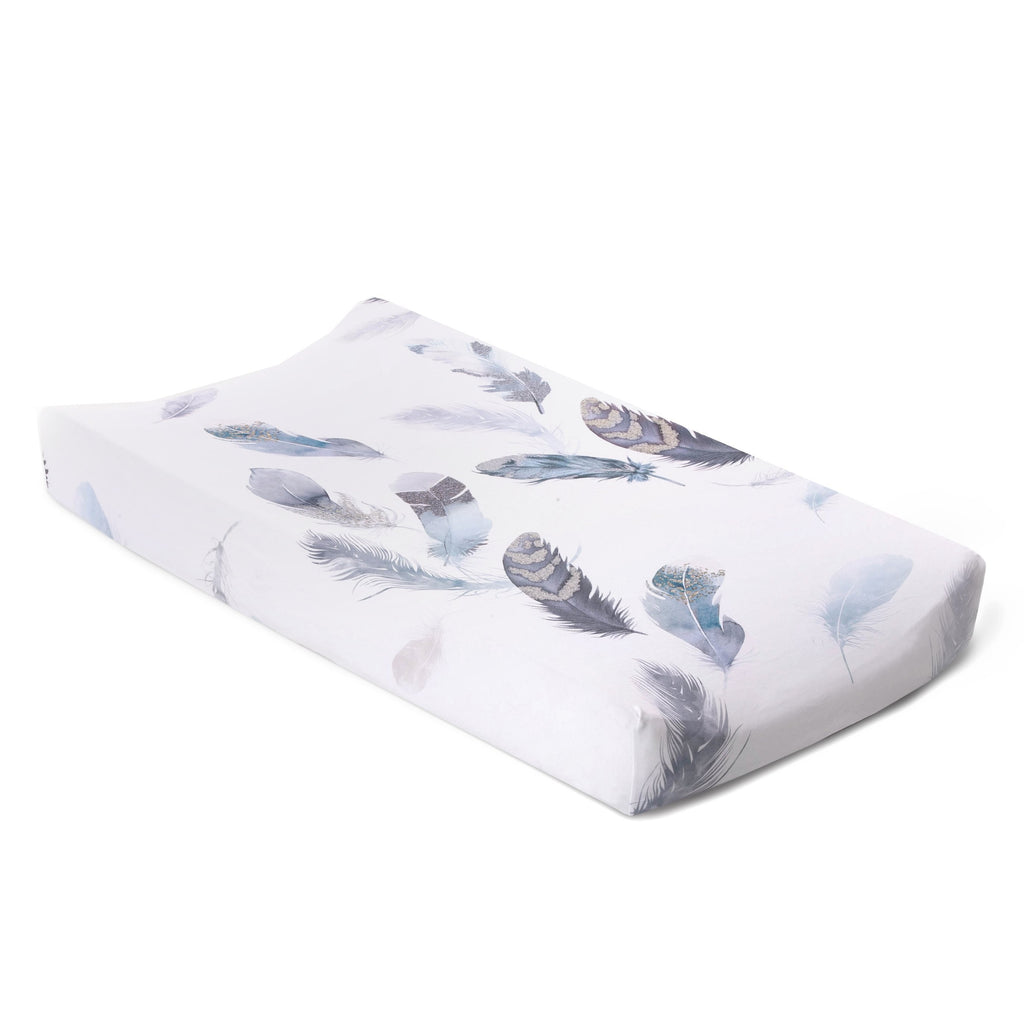 Oilo Jersey Changing Pad Cover -  Featherly