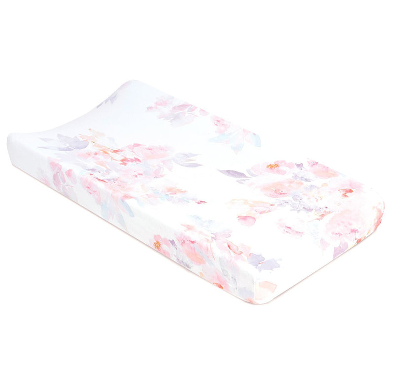 Oilo Jersey Changing Pad Cover - Feather