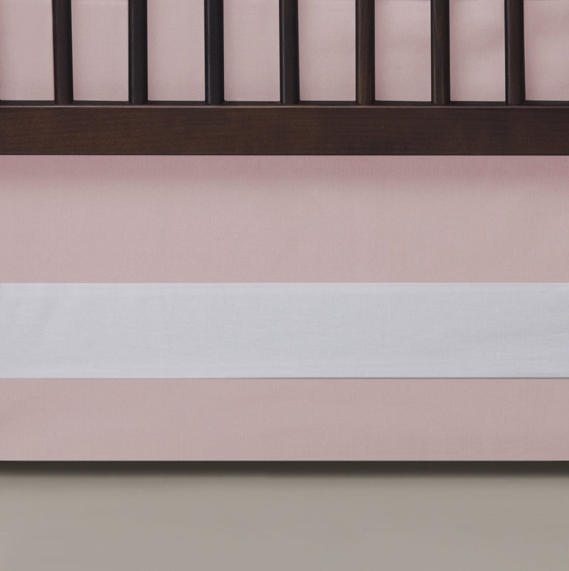 Brixy Percale Crib Skirt