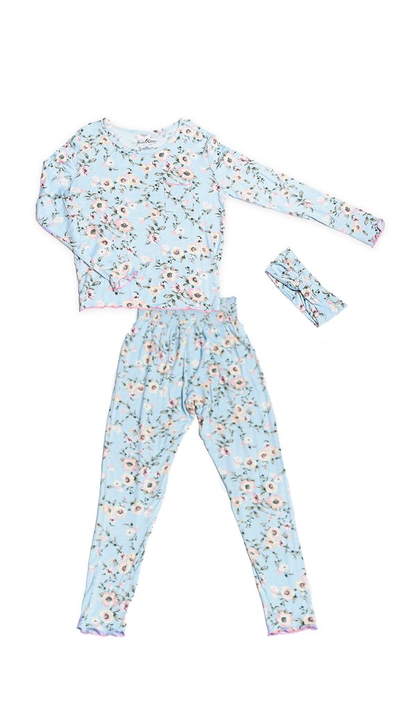 Everly Grey 3 PC Charlie Kids Pajama Set