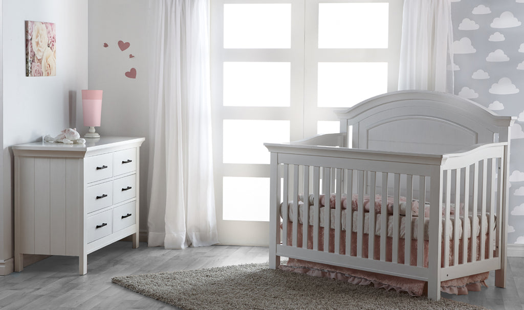 Pali Como Curve Top Crib