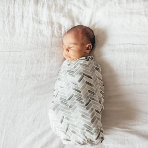 Copper Pearl Knit Swaddle Blanket - Alta