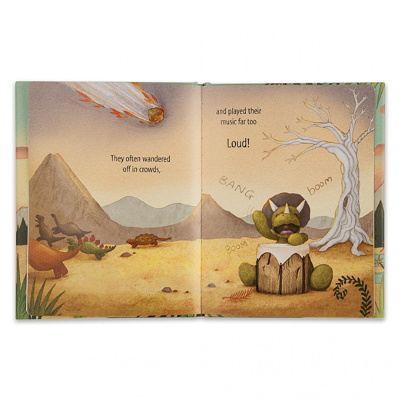 Jellycat- Dinosaurs are Cool- Board Book