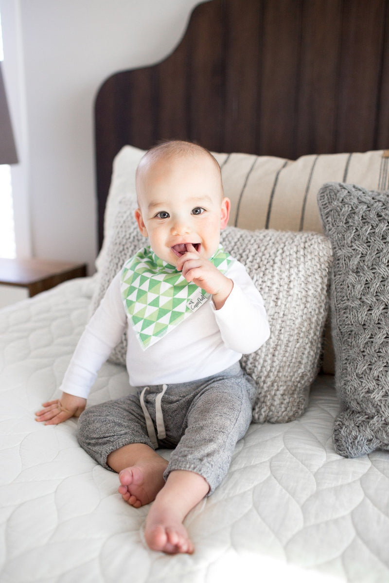 Copper Pearl Baby Bandana Bibs - Apollo