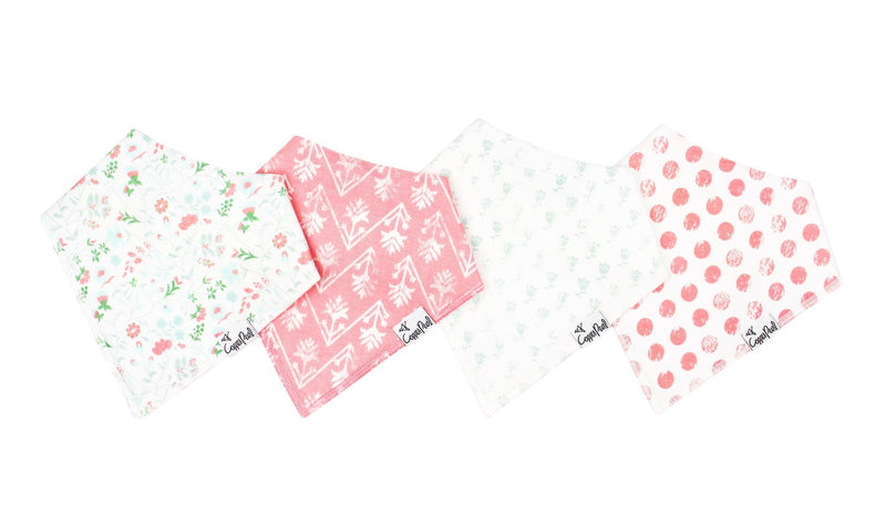 Copper Pearl Baby Bandana Bibs - Oxford