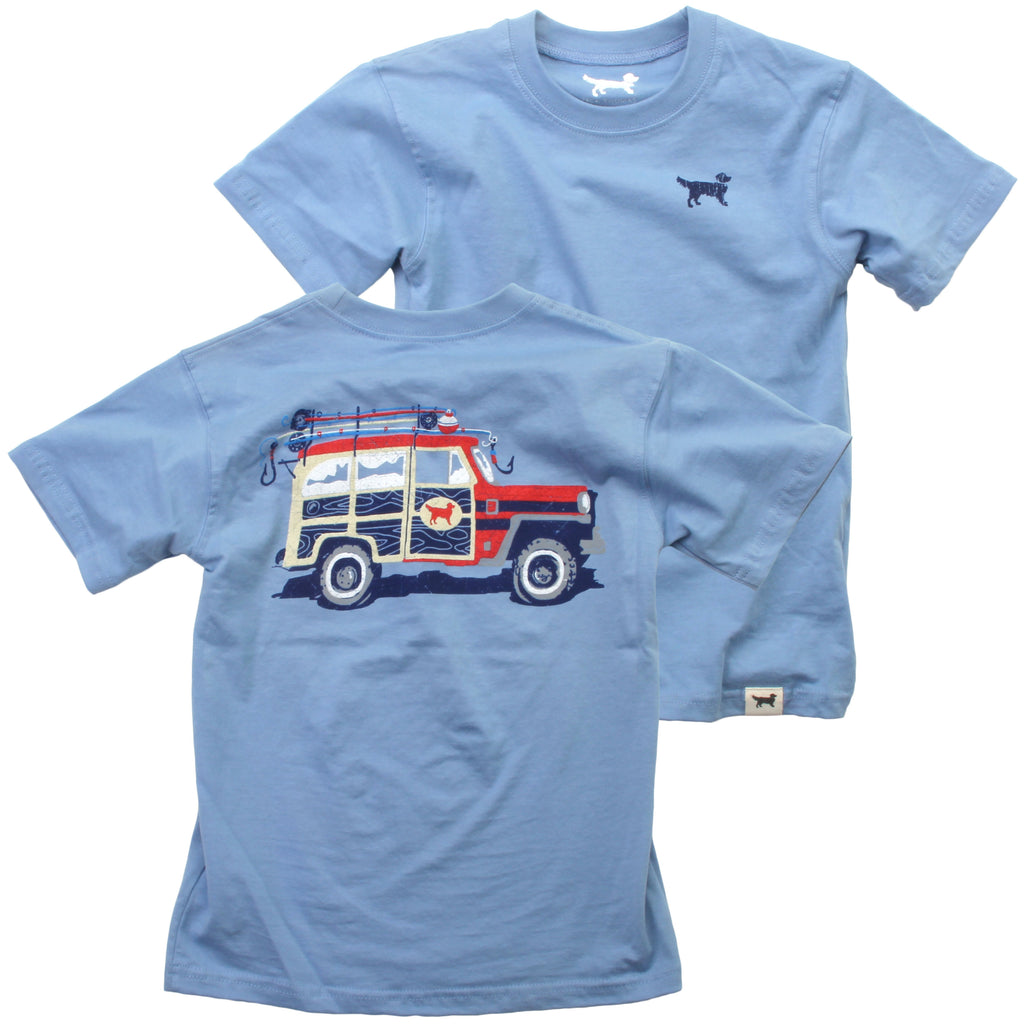 Wes & Willy Tee - Fishing Truck