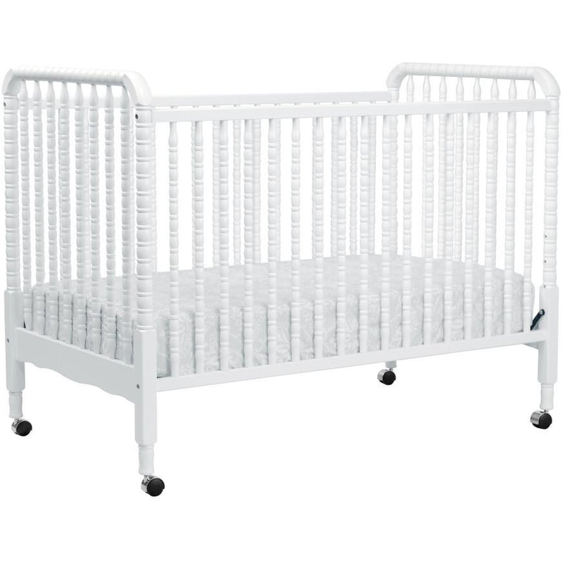 Dolce Babi Lucca Convertible Flat Top Crib in Weathered Grey