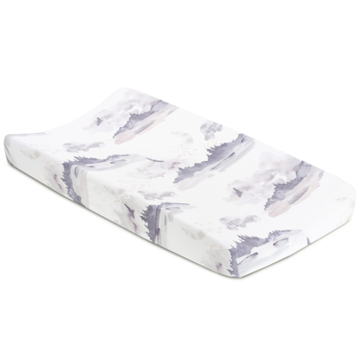 Oilo Changing Pad Cover - Misty Mountain