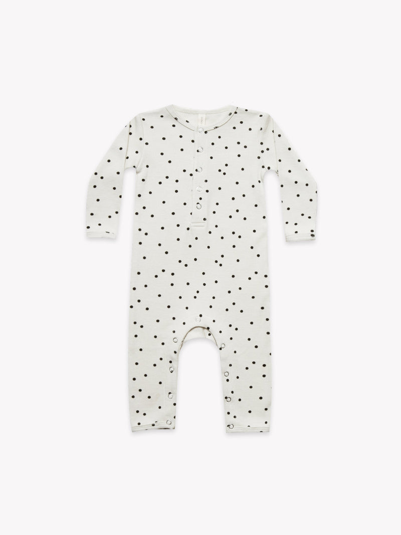 Quincy Mae Ribbed Baby Jumpsuit
