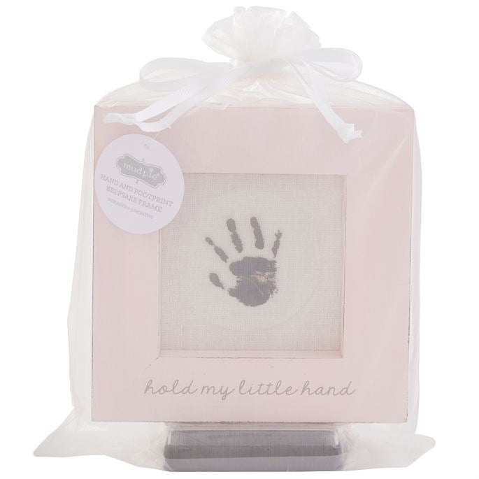Mud Pie Hand and Foot Print Frame
