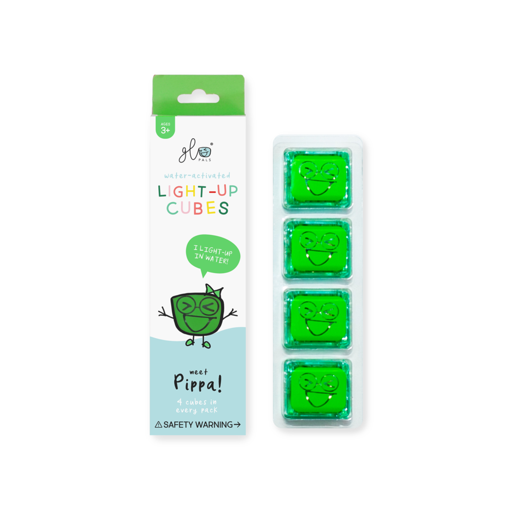 Glo Pals Light Up Cube - Pippa (Green)