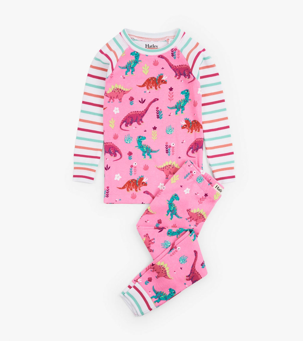 Hatley Darling Dinos Organic Cotton PJ's