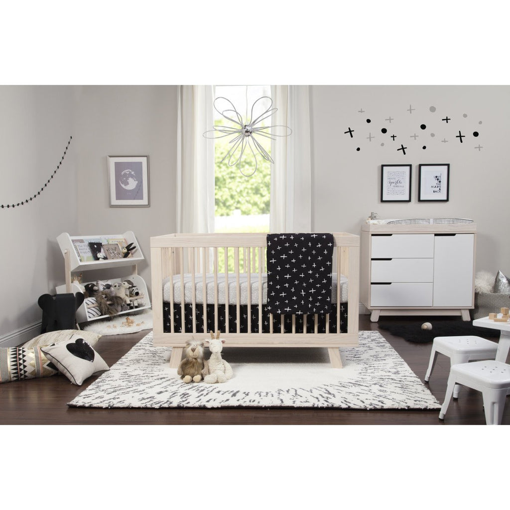 Babyletto Tuxedo 5-Piece Nursery Crib Bedding Set