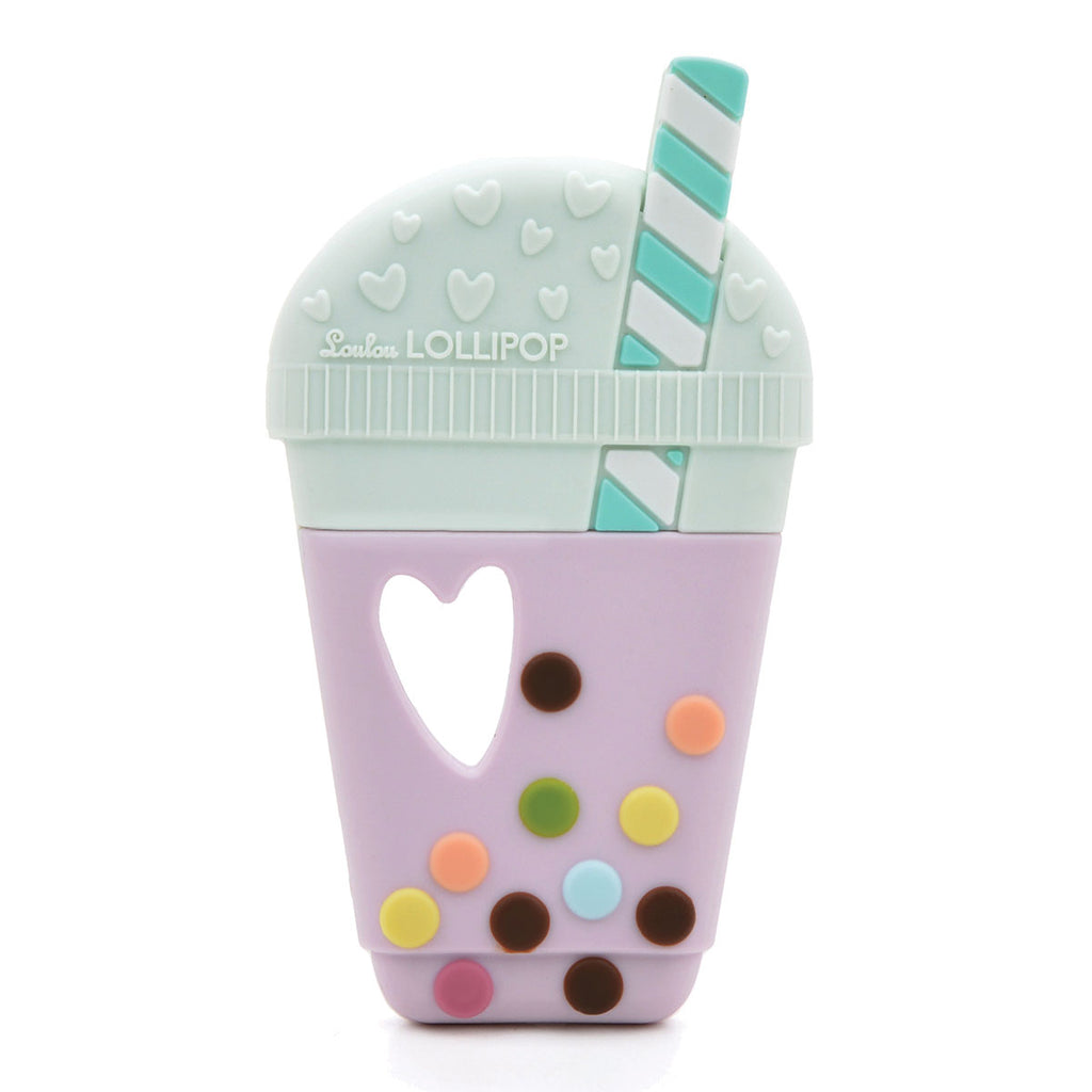 Loulou Lollipop Taro Milk Tea Teether