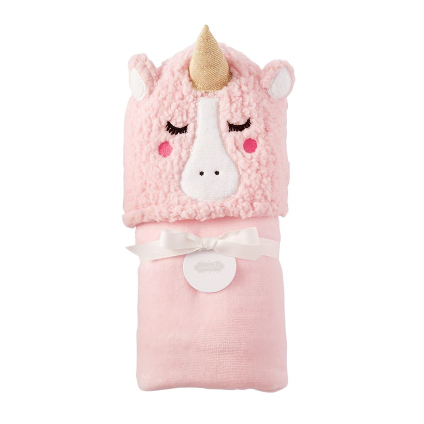 Mud Pie Hooded Towel - Unicorn