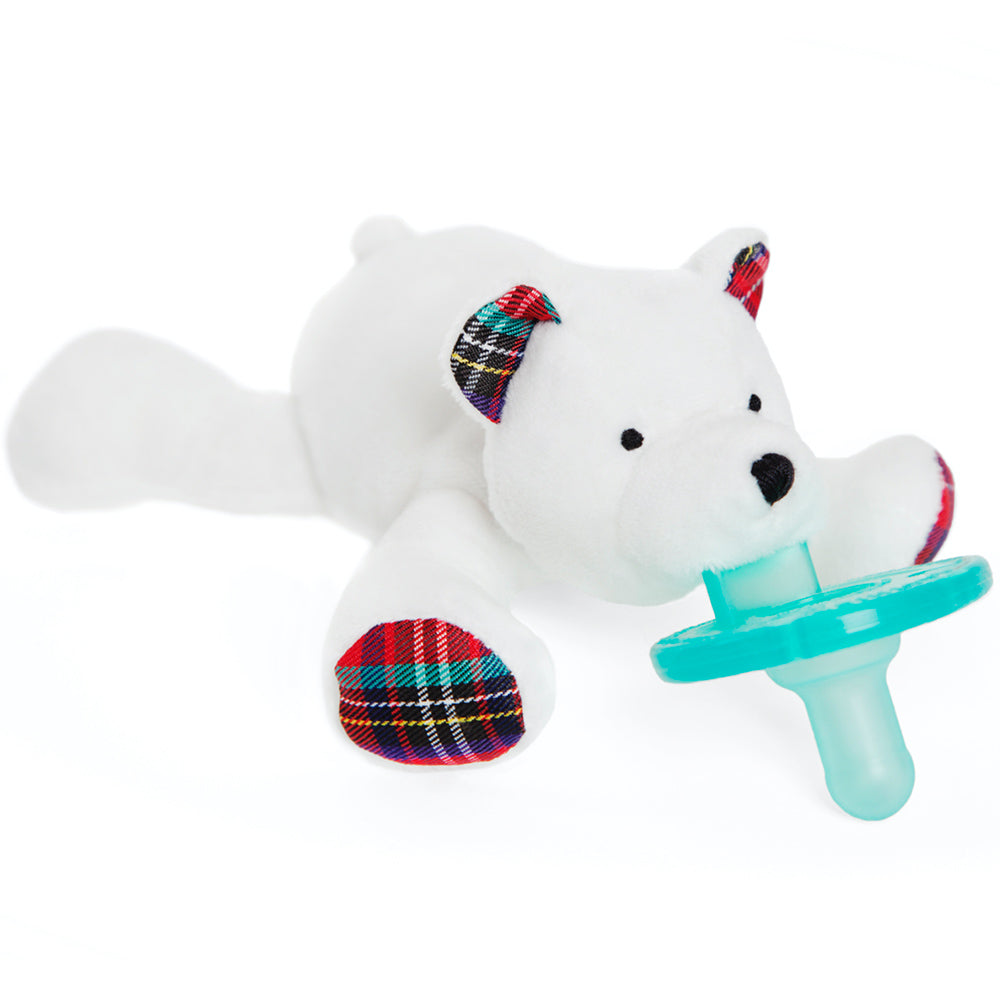 Wubbanub Pacifer Polar Bear