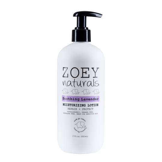Zoey Naturals Soothing Lavender Moisturizing Lotion 17 oz.