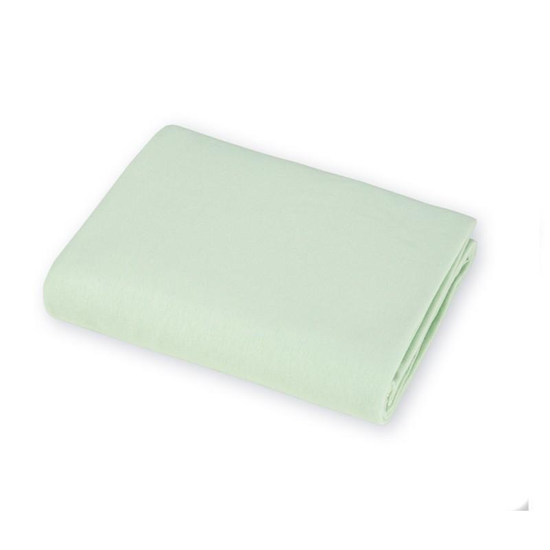 Brixy Supreme Jersey Crib Sheet- Light Green