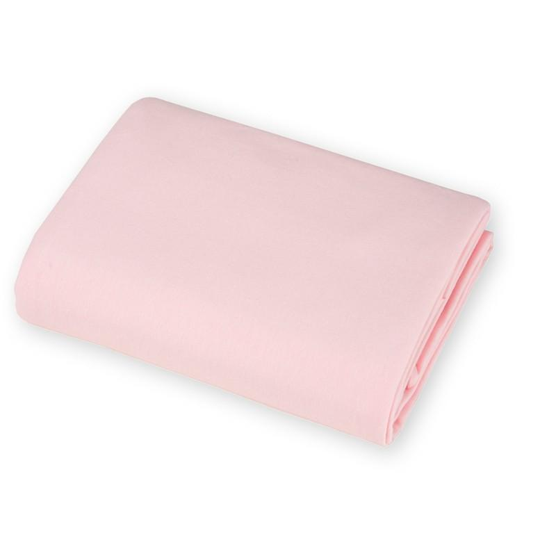 Brixy Supreme Jersey Crib Sheet- Light Pink