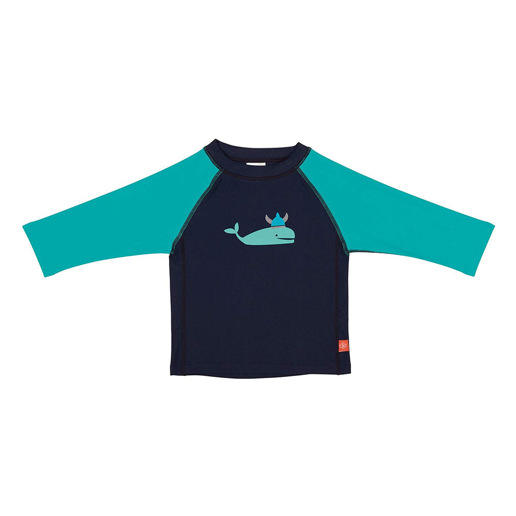 Lassig Board Shorts and Rash Guard Set - Blue Whale