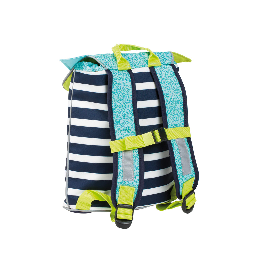 Lassig Mini Duffle Backpack Little Monsters - Bouncing Bob