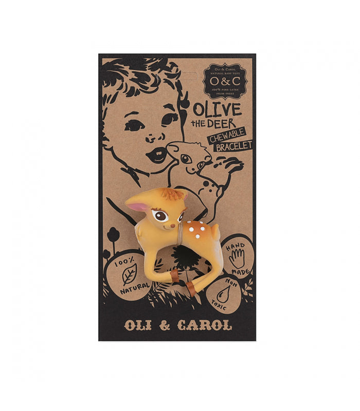 Oli & Carol Olive the Deer Bracelet Teether