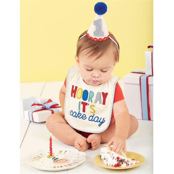 Mud Pie Boys Cake Smashing Set