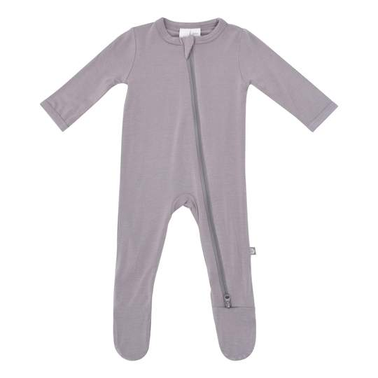 Kyte Baby Zippered Footie - Clay