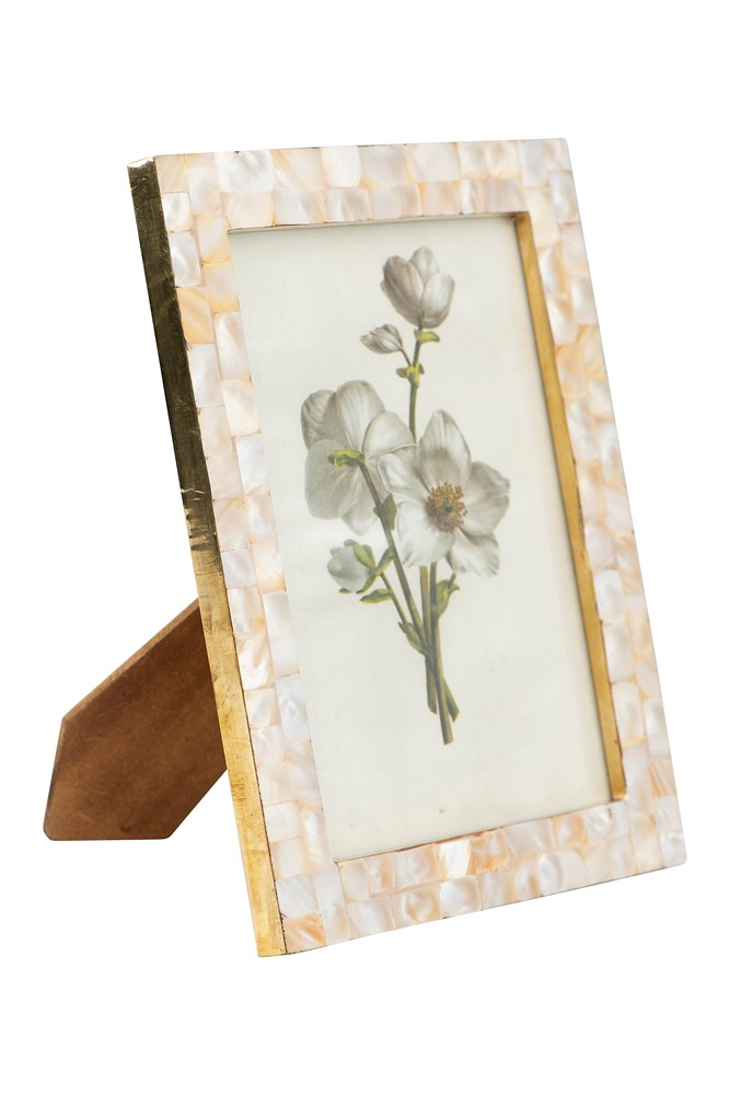 "Mother of Pearl Photo Frame (Holds 5"" x 7"" Photo)"