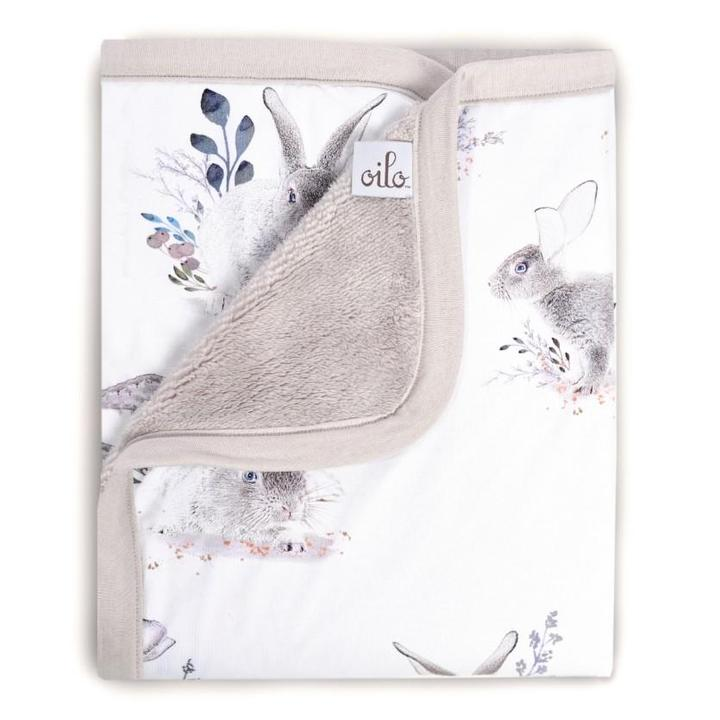 Oilo Cuddle Blanket - Cottontail