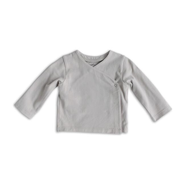 Pehr Essentials Wrap Cardigan- Dove Grey