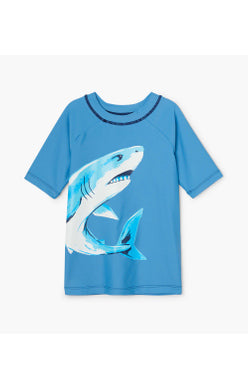 Hatley Deep Sea Shark Short Sleeve Rashguard