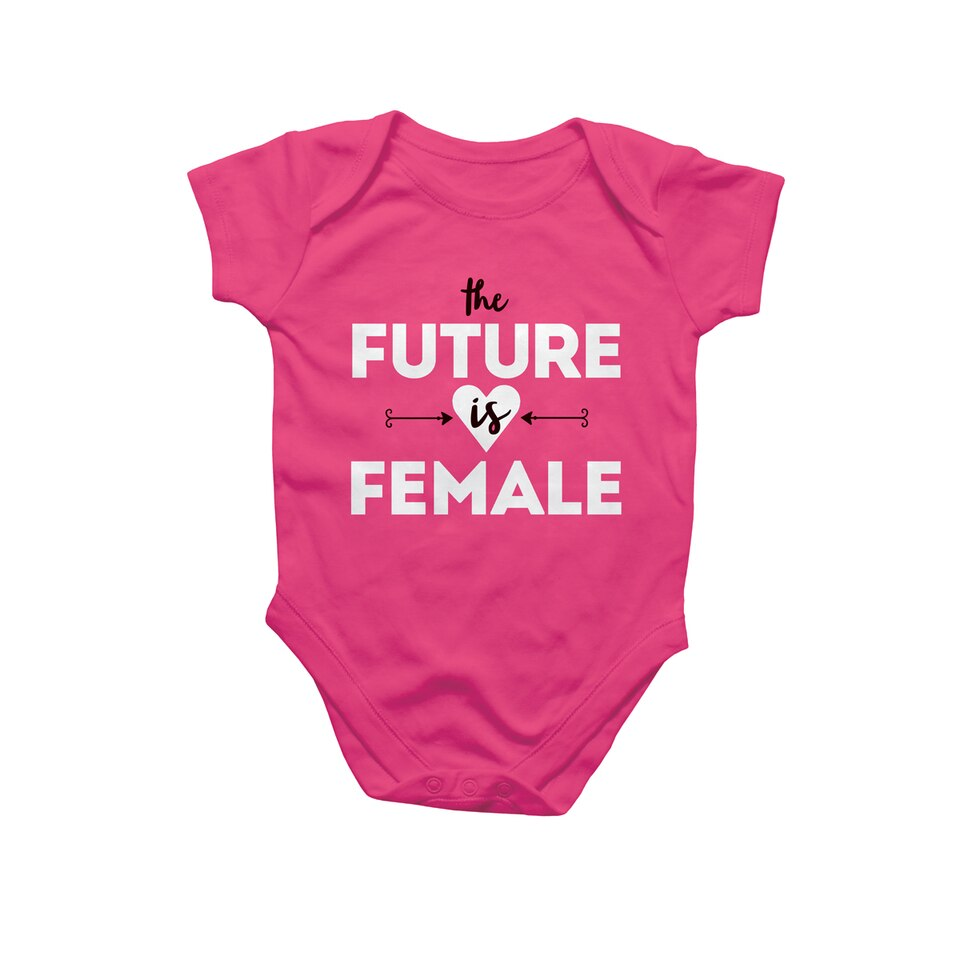 Rock, Paper, Scissors Onesie - The Future is Female