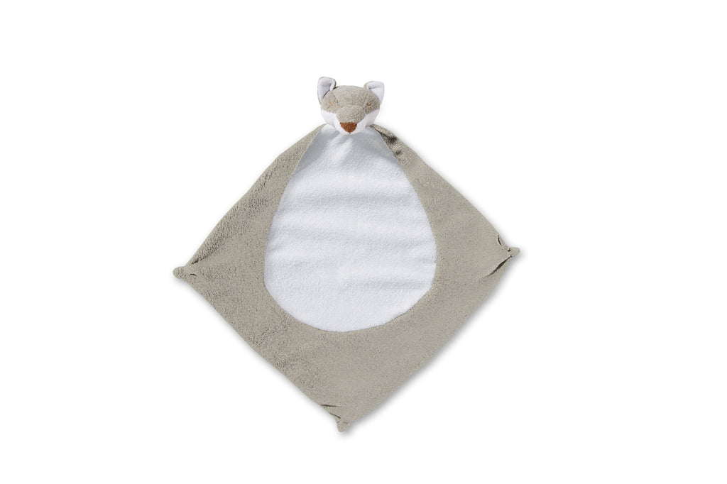 Angel Dear Lovie Blankie - Grey Fox