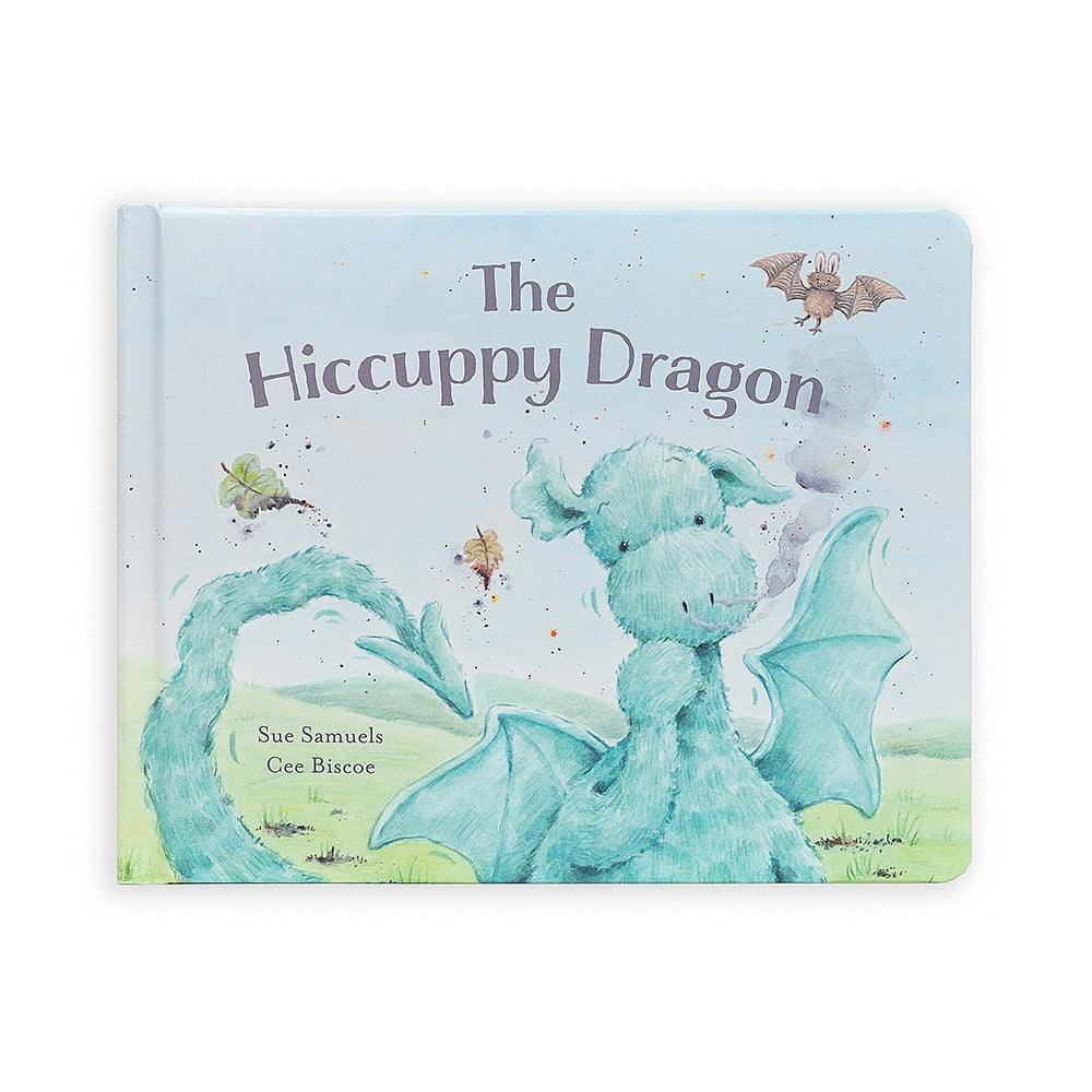 Jellycat- The Hiccuppy Dragon- Board Book
