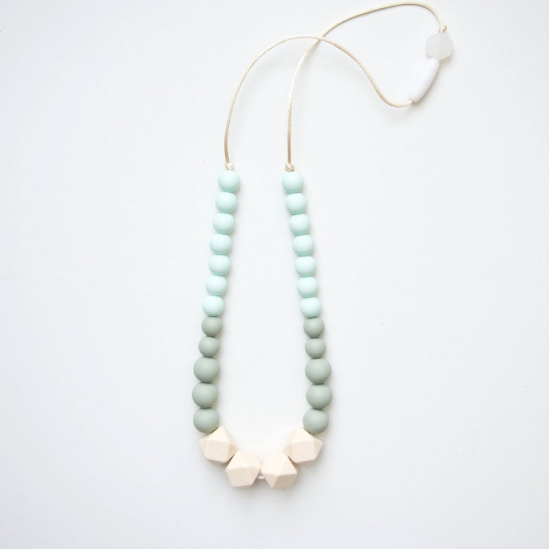 Loulou Lollipop Geo Statement Silicone Teething Necklace